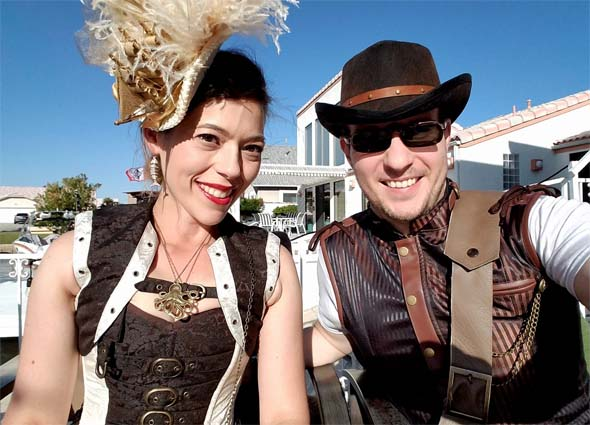 Steampunk pirate costumes