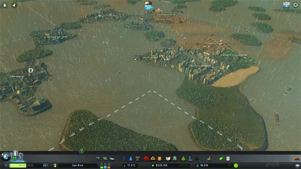Cities: Skylines - ferry system