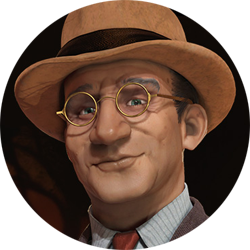 Civilization VI - John Curtin portrait