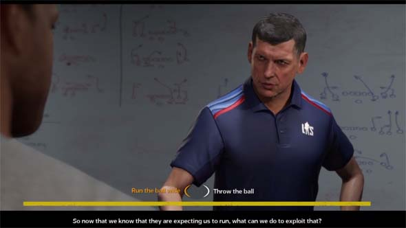 Madden NFL 18 - Coach Ford question