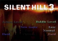 Silent Hill 3 - difficulty options