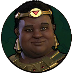 Civilization VI - Amanitore portrait