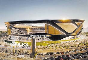 Raiders stadium concept