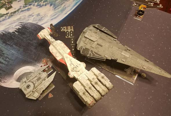 Star Wars X-Wing - turn collision