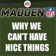 EA's Madden design philosophy, and why we can't have nice things