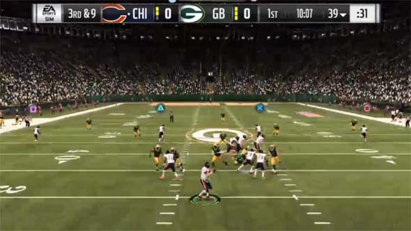 Madden 19 - screen blocking