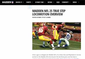 Madden 25 - true step