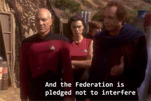 Star Trek: Deep Space Nine - Bajoran aid