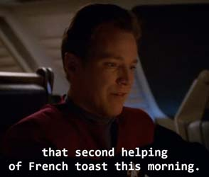Star Trek: Voyager - second helping of toast