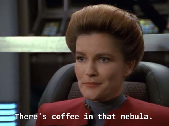 Star Trek: Voyager - coffee nebula
