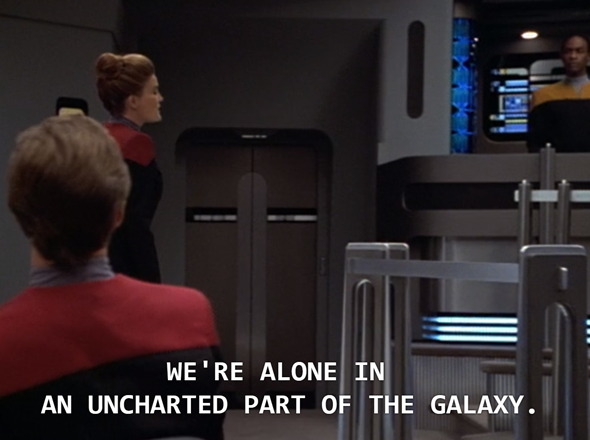 Star Trek: Voyager - alone