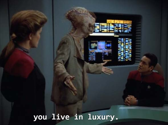 Star Trek: Voyager - living in luxury