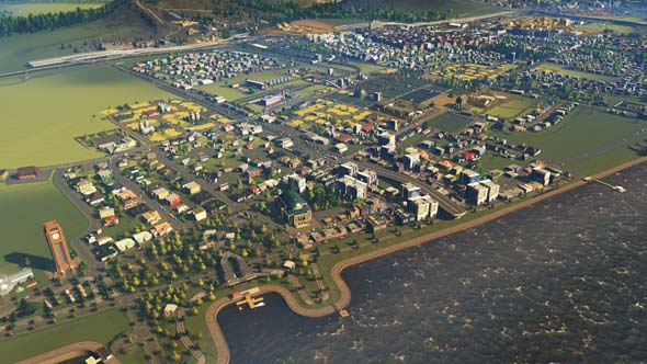 Cities: Skylines: Industries - farms