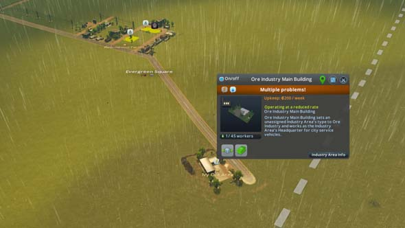 Cities: Skylines: Industries - conflicting industries