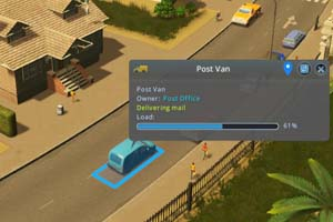 Cities: Skylines: Industries - post truck