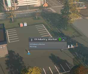 Cities: Skylines: Industries - industry worker