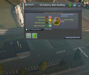 Cities: Skylines: Industries - building workforce