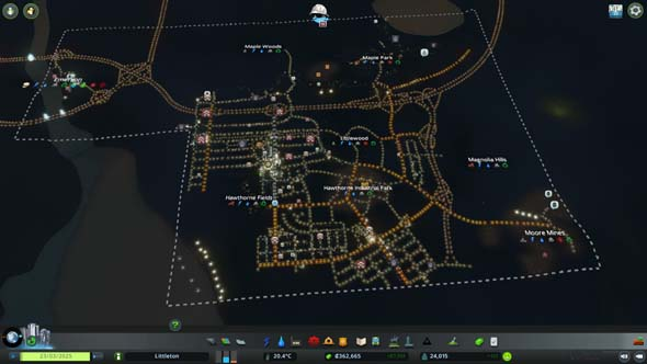 Cities: Skylines: Industries - Littleton satellite cities