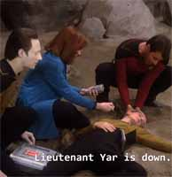 Star Trek: TNG - Tasha Yar's death