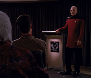 Star Trek: TNG - Picard teacher