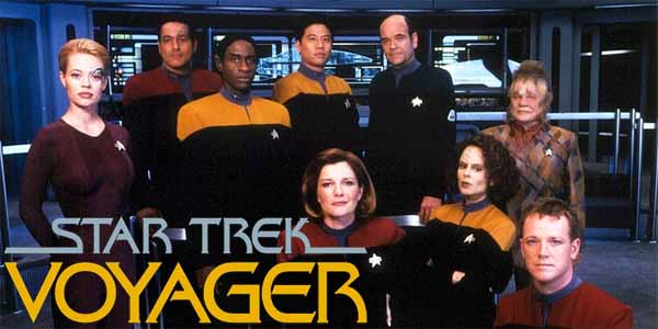 Star Trek Voyager cast