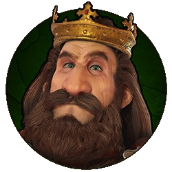 Civilization VI - Robert the Bruce portrait