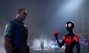 Into the Spider-Verse - officer Davis