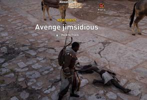 Assassin's Creed Origins - avenge fallen player