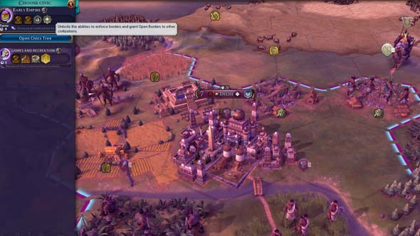 Civilization VI - open borders