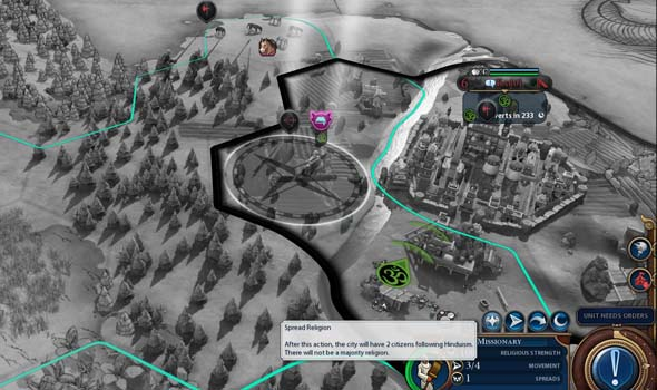 Civ VI Rise and Fall - religious unit stacking