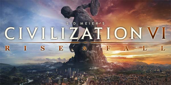 Civilization VI: Rise and Fall - title