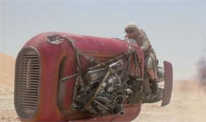 The Force Awakens - Rey's vehicle