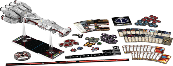 Star Wars X-Wing - CR90 product contents