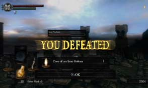 Dark Souls - You Defeated