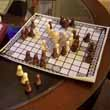 Playing my souvenir games from Europe: Hnefatafl (The Viking Game)