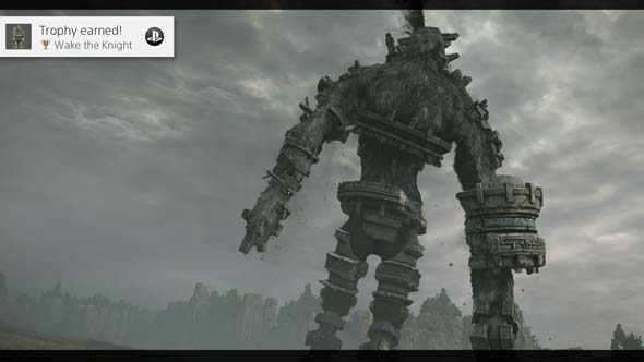 Shadow of the Colossus - death trophy