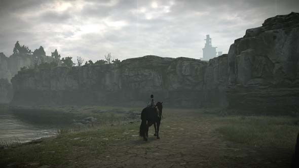 Shadow of the Colossus - texture pop-in