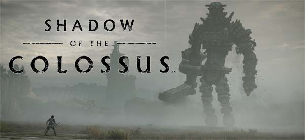 Shadow of the Colossus (PS4, 2018) - title