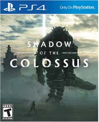 Shadow of the Colossus - cover