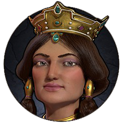 Civilization VI - Tamar portrait