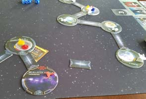 Star Trek: Ascendancy - floating system discovered
