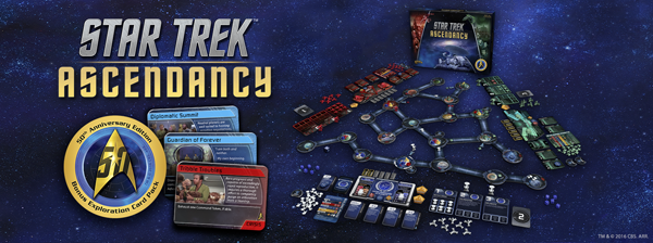 Star Trek Ascendancy 50th anniversary edition