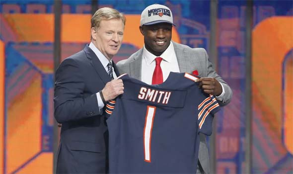 Bears draft Roquan Smith