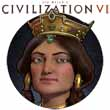 Tamar builds golden walls for Civilization VI's Georgia