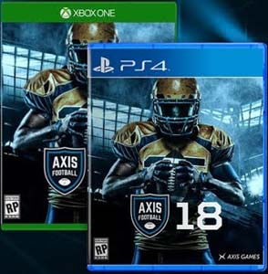 Axis Football 18 - PS4 cover