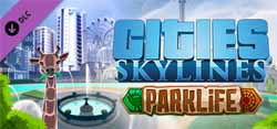 Cities: Skylines: Parklife - cover