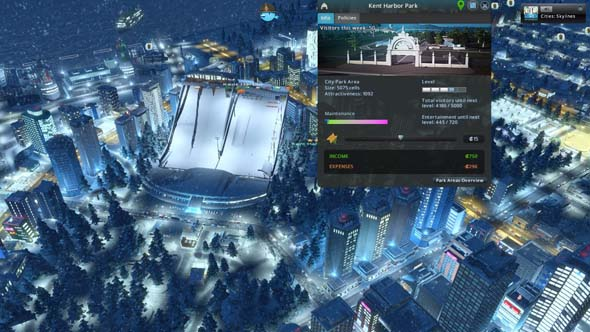 Cities: Skylines - ski resort