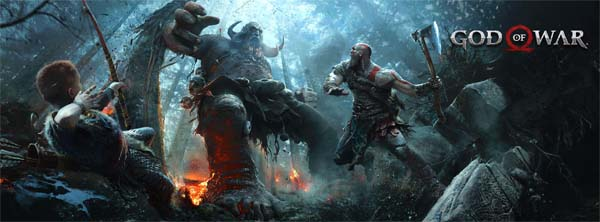 God of War - title