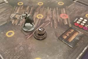 Dark Souls board game - bloodstain