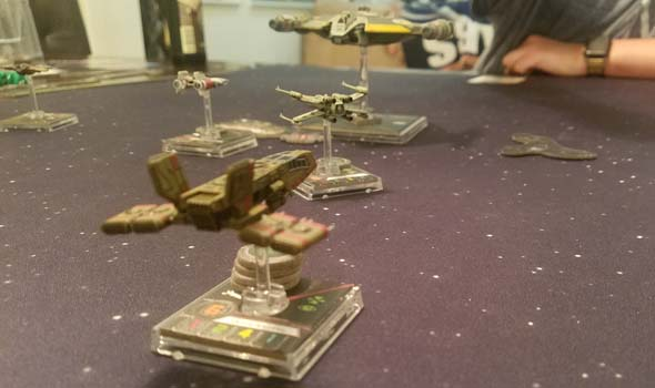 Star Wars X-Wing - Moldy Crow focus stockpile